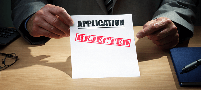 Warning: Not all rejections are the same.