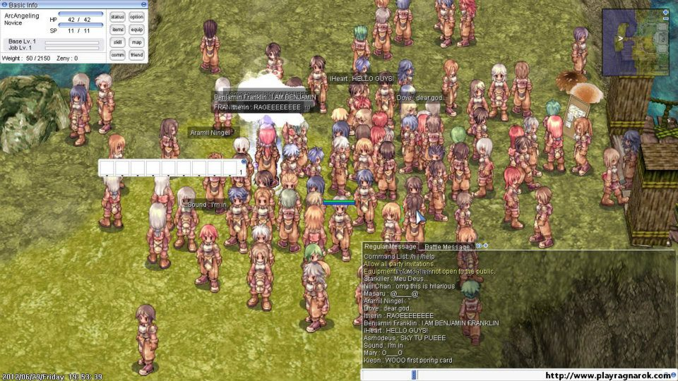 The original Ragnarok Online, much troubled by private servers.